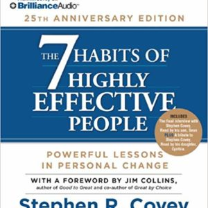 7 Habits Of Highly Effective People Anniversary Edition 14Cd